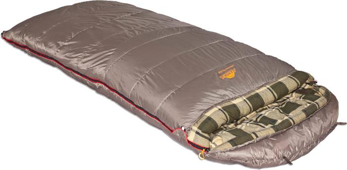 Спальный мешок-одеяло Alexika Canada plus, цвет: серый, левосторонняя молния. 9266.01072