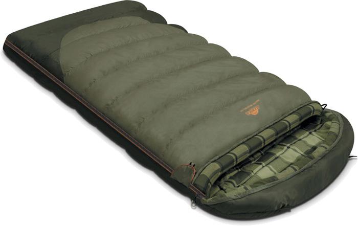 Спальный мешок-одеяло Alexika Siberia Wide Plus, цвет: серый, левосторонняя молния. 9254.01072