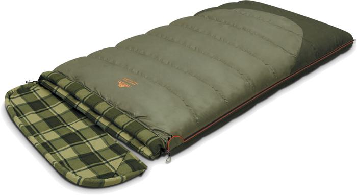 Спальный мешок-одеяло Alexika Siberia Wide Transformer, цвет: серый, правосторонняя молния. 9255.010719255.01071Качественный спальный мешок-трансформер Siberia Wide Transformer от Alexika - идеальный вариант для ночевки в кемпинге. Он наилучшим образом подойдет для отдыха, как весной, так и осенью. Спальник легко превращается в полноценное двуспальное одеяло, а также имеет отстегивающийся капюшон. Спальный мешок сделан из качественного материала с двухслойным силиконовым наполнителем, который прекрасно удерживает тепло и сохраняет форму после стирки. Наполнитель отличается повышенной устойчивостью к впитыванию запахов и влаги, а также нетоксичностью и негорючестью. Внутри мешок отделан приятной телу фланелевой подкладкой. Сохранить тепло в холодные ночи помогает и ватный валик, которым оторочен мешок по периметру. Он служит защитой от ветра и холодного воздуха, поступающего через молнию.Спальник Siberia Wide Transformer застегивается на крепкую молнию с замком и люминесцентным бегунком, который позволяет легко находить мешок в темноте. С помощью молний по бокам к мешку можно пристегнуть другой спальник, что дает возможность увеличить площадь одеяла. Вдоль молнии имеется лента, предотвращающая заедание замка. Для хранения личных вещей внутри спальника предусмотрен сетчатый карман. Модель имеет петли для просушки мешка. Особенности: Отстегивающийся капюшон Отделение под подушку с двумя входами. Лента от закусывания молнии. Сетчатый внутренний карман. Люминесцентная петля на замке молнии. Возможность состегивания спальников, имеющих молнии с правой и левой стороны. Петли для сушки. На треугольном клапане круглая липучка и светоотражающий ярлык. Утеплитель сформирован в пакеты, смещённые относительно друг друга на половину ширины пакета, что предотвращает проникновение холодного воздуха через швы.Размер в чехле: 47/37 x 27 см. Внешняя ткань верх: Polyester 190T.Внешняя ткань низ: Polyester 190T Diamond RipStop PU 250 mm H2O. Внутренняя ткань: Flannel. Утеплитель: APF-Is