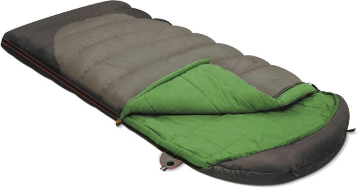 Спальный мешок-одеяло Alexika Summer Wide Plus, цвет: серый, левосторонняя молния. 9259.01072