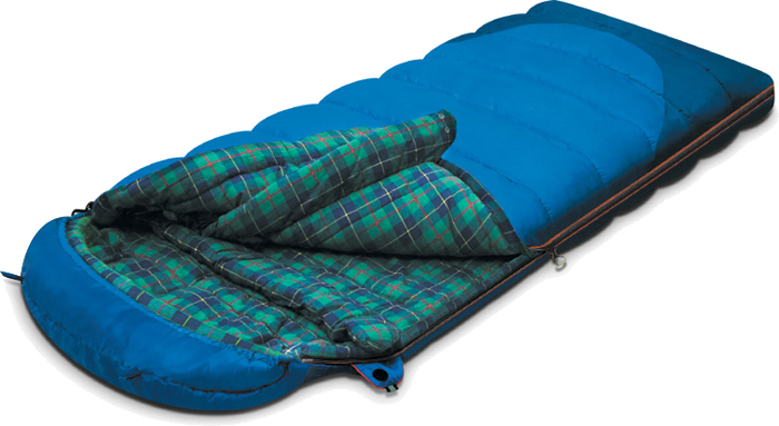 Спальный мешок-одеяло Alexika Tundra Plus, цвет: синий, правосторонняя молния. 9257.010519257.01051Спальник-одеяло Alexika Tundra Plus на три сезона позволяет спать в комфорте даже при сильных заморозках. Особенности:Отделение под подушку с двумя входами.Мягкий валик вдоль окна капюшона.Лента от закусывания молнии.Удобные затяжки разного цвета и формы.Сетчатый внутренний карман.Анатомический капюшон.Теплый воротник с обхватом 360 градусов.Люминесцентная петля на замке молнии.Возможность состегивания спальников, имеющих молнии с правой и левой стороны.Петли для сушки.На треугольном клапане круглая липучка и светоотражающий ярлык.Утеплитель сформирован в пакеты, смещенные относительно друг друга на половину ширины пакета, что предотвращает проникновение холодного воздуха через швы.В комплект входят спальник, компрессионный мешок. Размер в чехле: 45/35 см x 29 см.Внешняя ткань верх: Polyester 190T.Внешняя ткань низ: Polyester 190T Diamond RipStop PU 250 mm H2O. Внутренняя ткань: Flannel. Утеплитель: APF-Isoterm 3D.