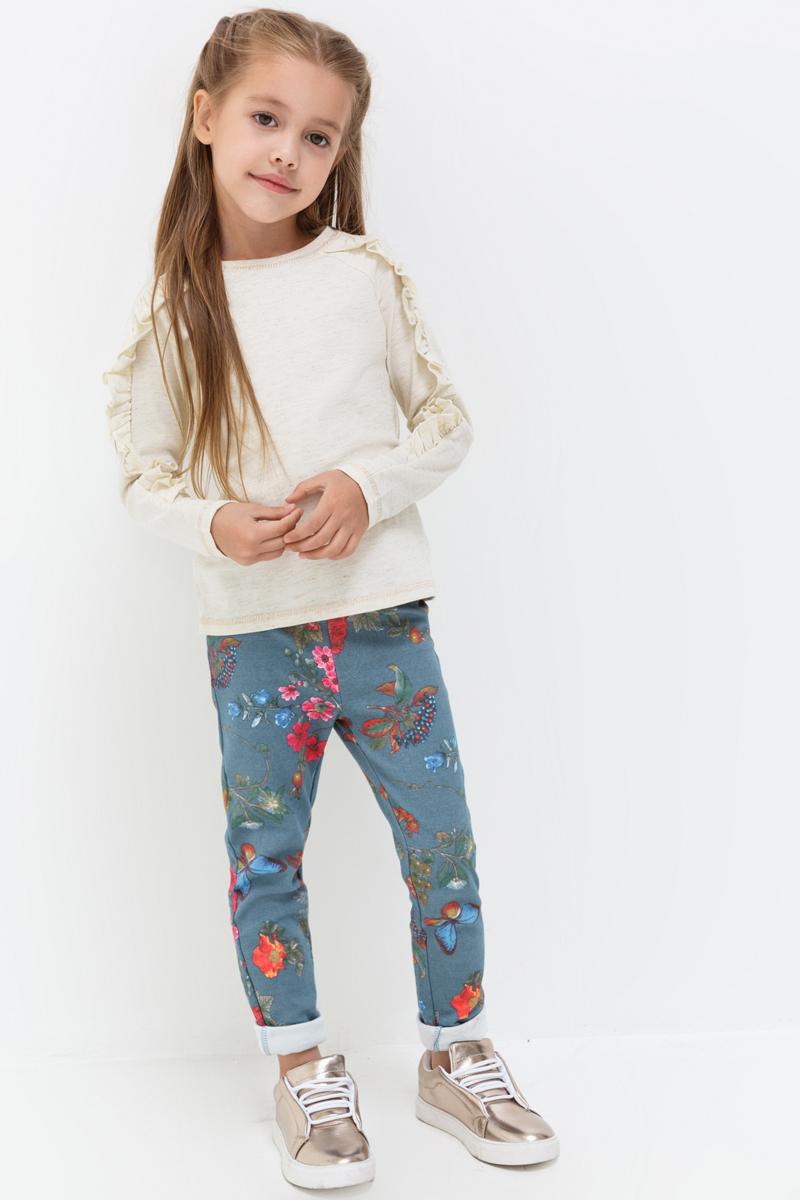 Джемпер для девочки Acoola Nivea, цвет: бежевый. 20220100142_800. Размер 9820220100142_800