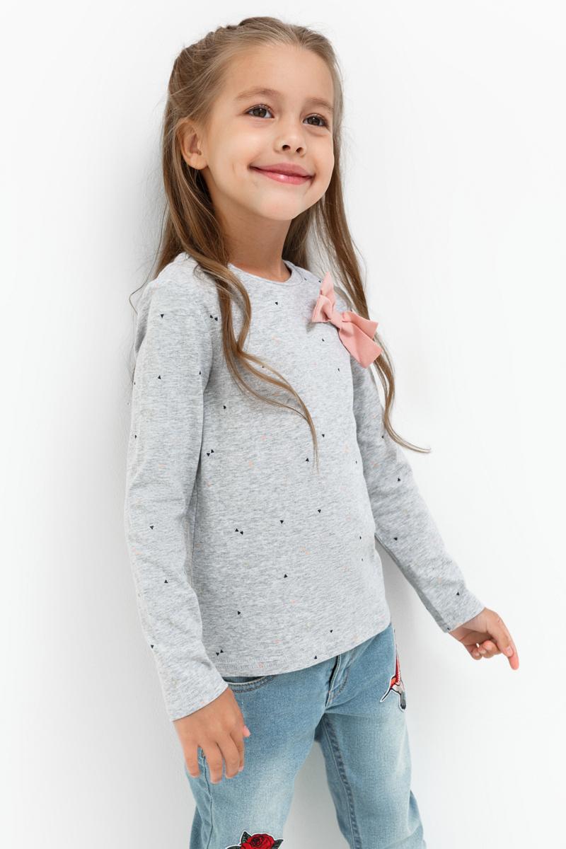 Джемпер для девочки Acoola Catrice, цвет: серый. 20220100141_1900. Размер 12220220100141_1900