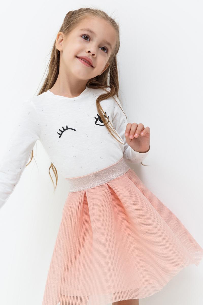 Джемпер для девочки Acoola Letoile, цвет: белый. 20220100140_200. Размер 12220220100140_200Джемпер для девочки Acoola идеально подойдет вашей маленькой моднице. Изготовленный из хлопка с добавлением эластана, он необычайно мягкий и приятный на ощупь, не сковывает движения, обеспечивая наибольший комфорт. Модель с длинными рукавами и круглым вырезом горловины оформлена принтом.