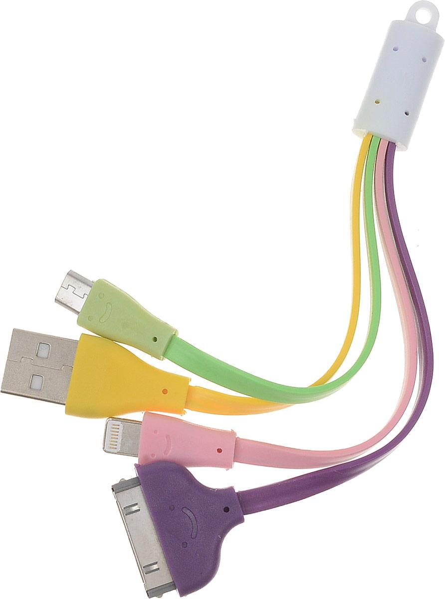 Oxion UCC001 универсальный USB кабельOX-UCC001DCOxion UCC001 - универсальный кабель, который подходит для iPad, iPhone и iPod с коннектором 30-pin или Lightning. Также кабель совместим со всеми мобильными устройствами с коннектором MicroUSB.