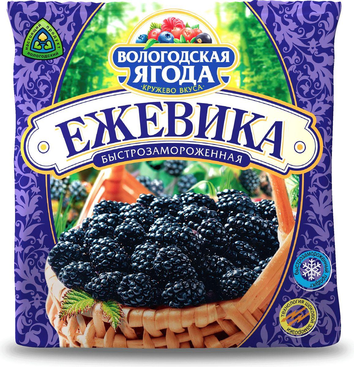 Кружево Вкуса Ежевика быстрозамороженная, 300 г