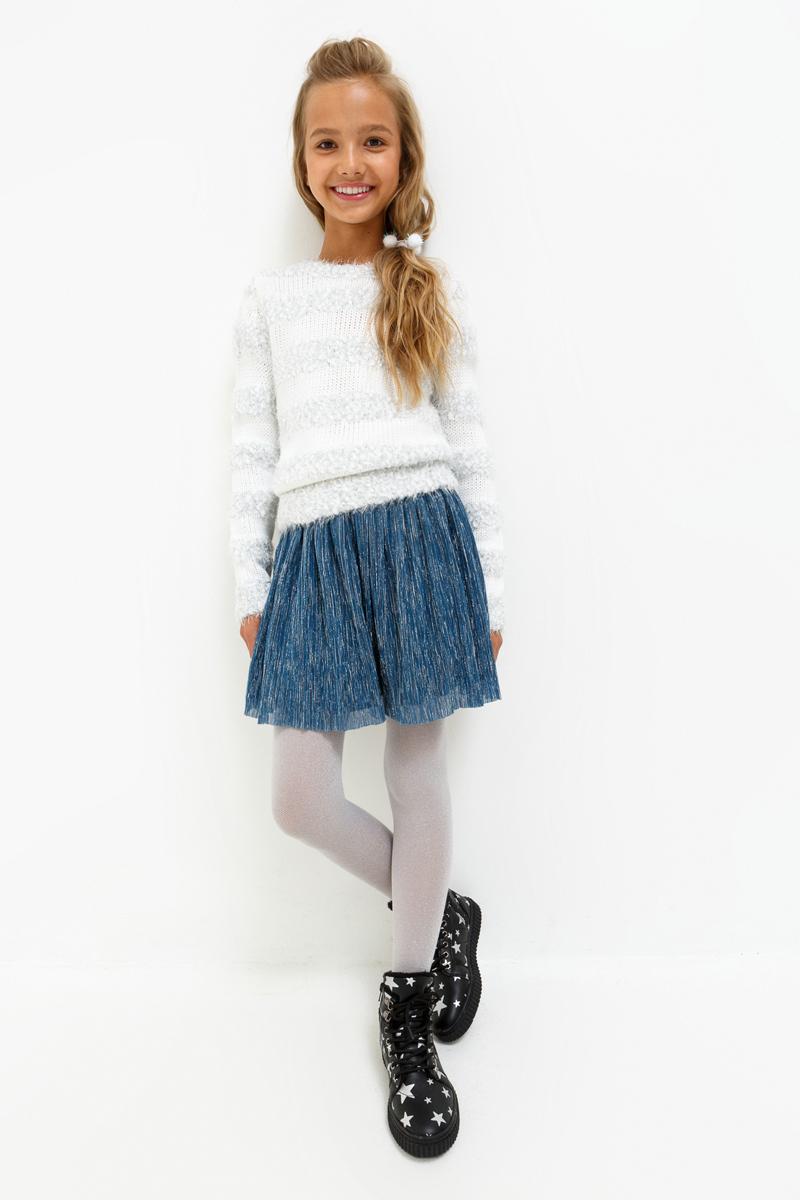 Юбка для девочки Acoola Nesquik, цвет: темно-синий. 20210180060_600. Размер 13420210180060_600
