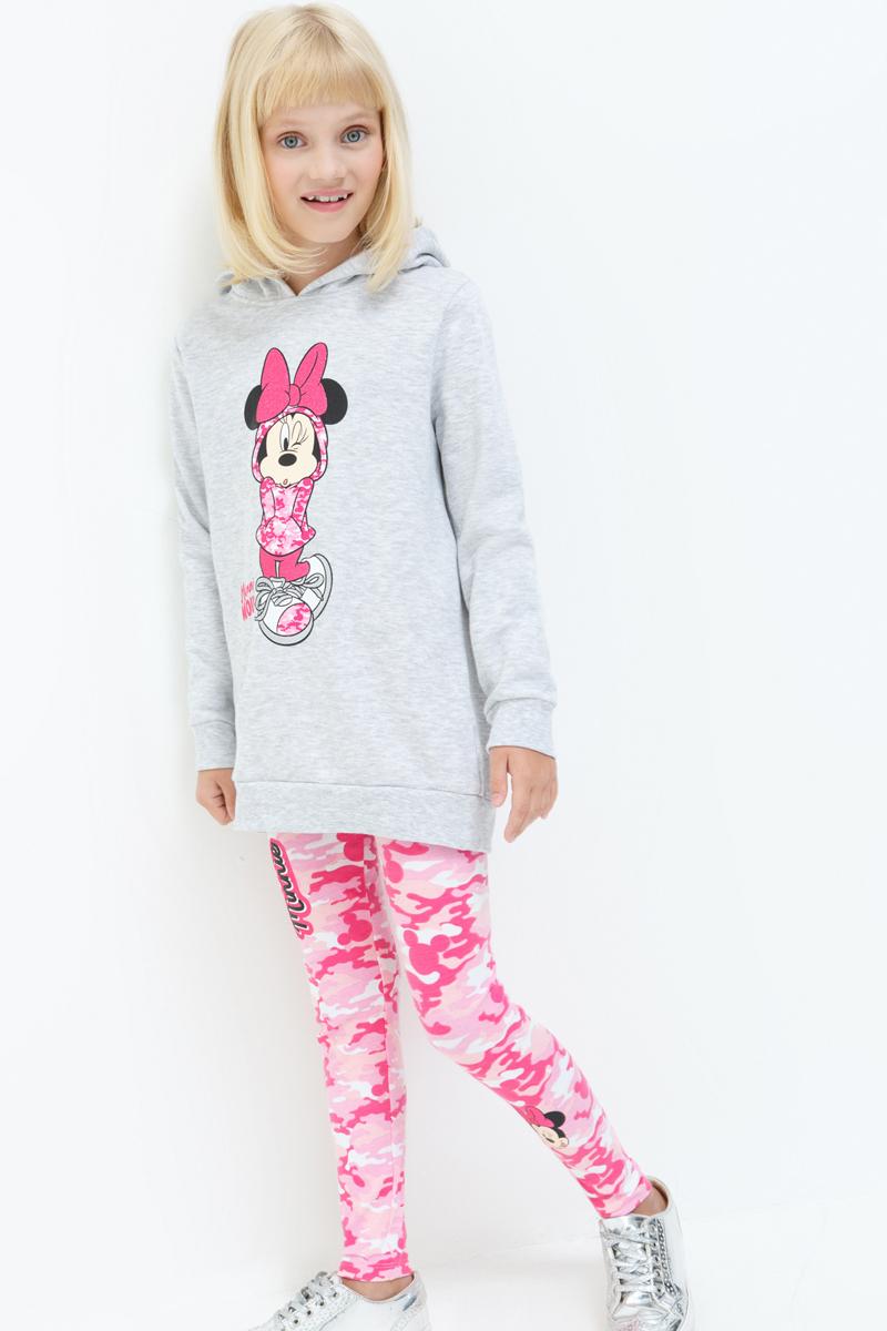 Леггинсы для девочки Acoola Cairns, цвет: розовый. 20210160122_1400. Размер 14020210160122_1400