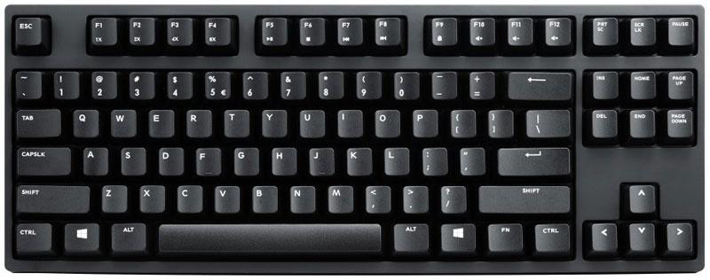 Cooler Master NovaTouch TKL игровая клавиатураSGK-5000-GKCT1-RUCooler Master NovaTouch TKL - это гибридная клавиатура, которая позволит вам получить совершенно новые ощущения от игр и работы за компьютером.Данная модель использует так называемые гибридные ёмкостные переключатели японского производства с минимальным усилием срабатывания 45 граммов и ходом срабатывания 1 мм.Благодаря таким переключателям, которые представляют собой нечто среднее между механическими и мембранными, клавиатура отличается плавным ходом клавиш и минимальным временем задержки. По сравнению с традиционными механическими переключателями, время задержки короче в три раза.Отдельно отмечается совместимость с колпачками клавиш Cherry MX, что позволяет использовать широко доступные на рынке колпачки клавиш. Клавиатура работает с частотой опроса клавиш 1000 Гц и оснащена встроенной памятью 128 Кбайт для хранения настроек мультимедийных клавиш.