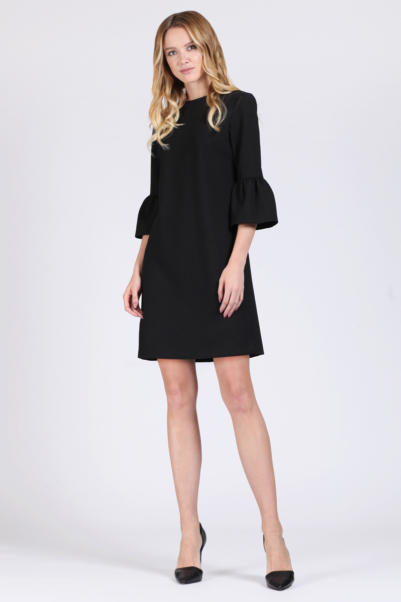 Платье Tom Farr, цвет: черный. TW1503.58808-2-coll. Размер M (46)TW1503.58808-2-coll