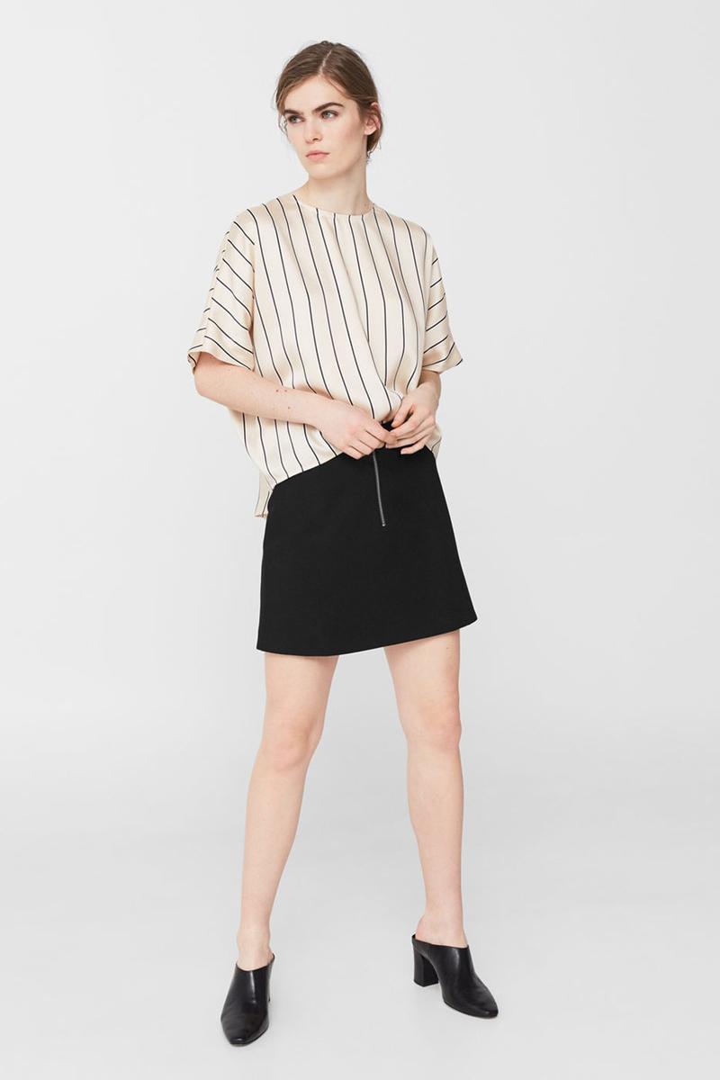 Юбка Tom Farr, цвет: черный. TW1507.58808-2-coll. Размер L (48)TW1507.58808-2-collМини-юбка от Tom Farr выполнена из высококачественного материала. Модель трапециевидного кроя спереди застегивается на молнию.