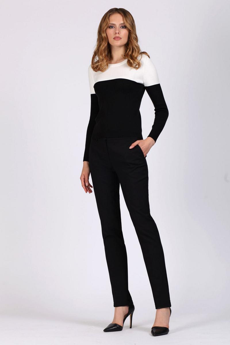 Брюки женские Tom Farr, цвет: черный. TW1509.58808-1-coll. Размер 31-32 (48-32)TW1509.58808-1-coll