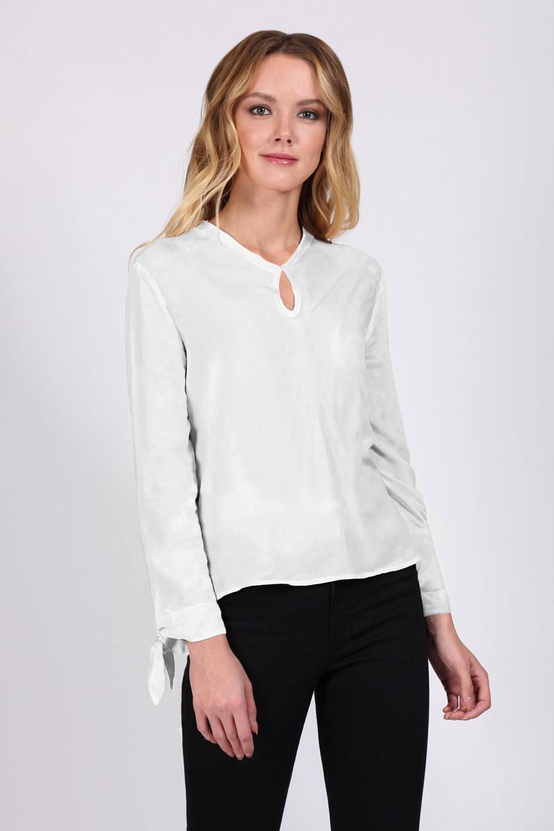 Фото Блузка женская Tom Farr, цвет: белый. TW1510.50808-1-coll. Размер S (44)
