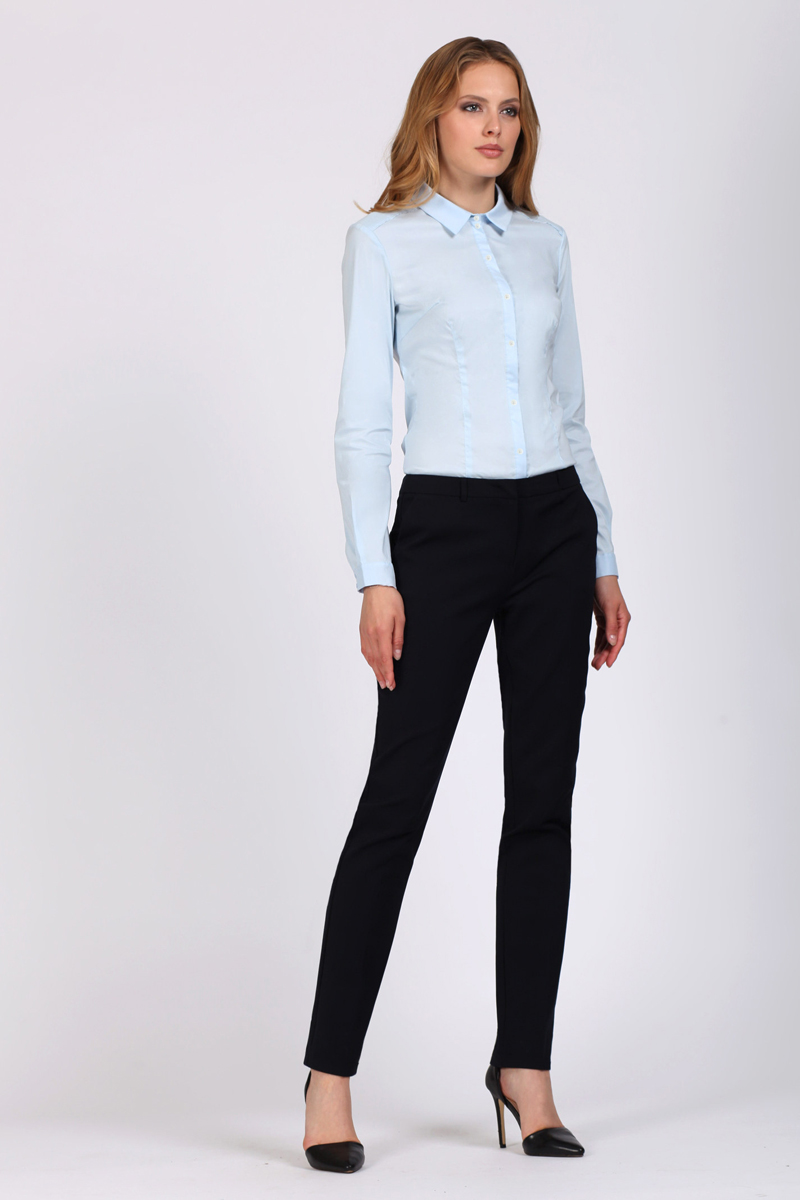 Блузка женская Tom Farr, цвет: голубой. TW1513.33808-1-coll. Размер XXL (52) блузки dorothy s нome блузка модель американка