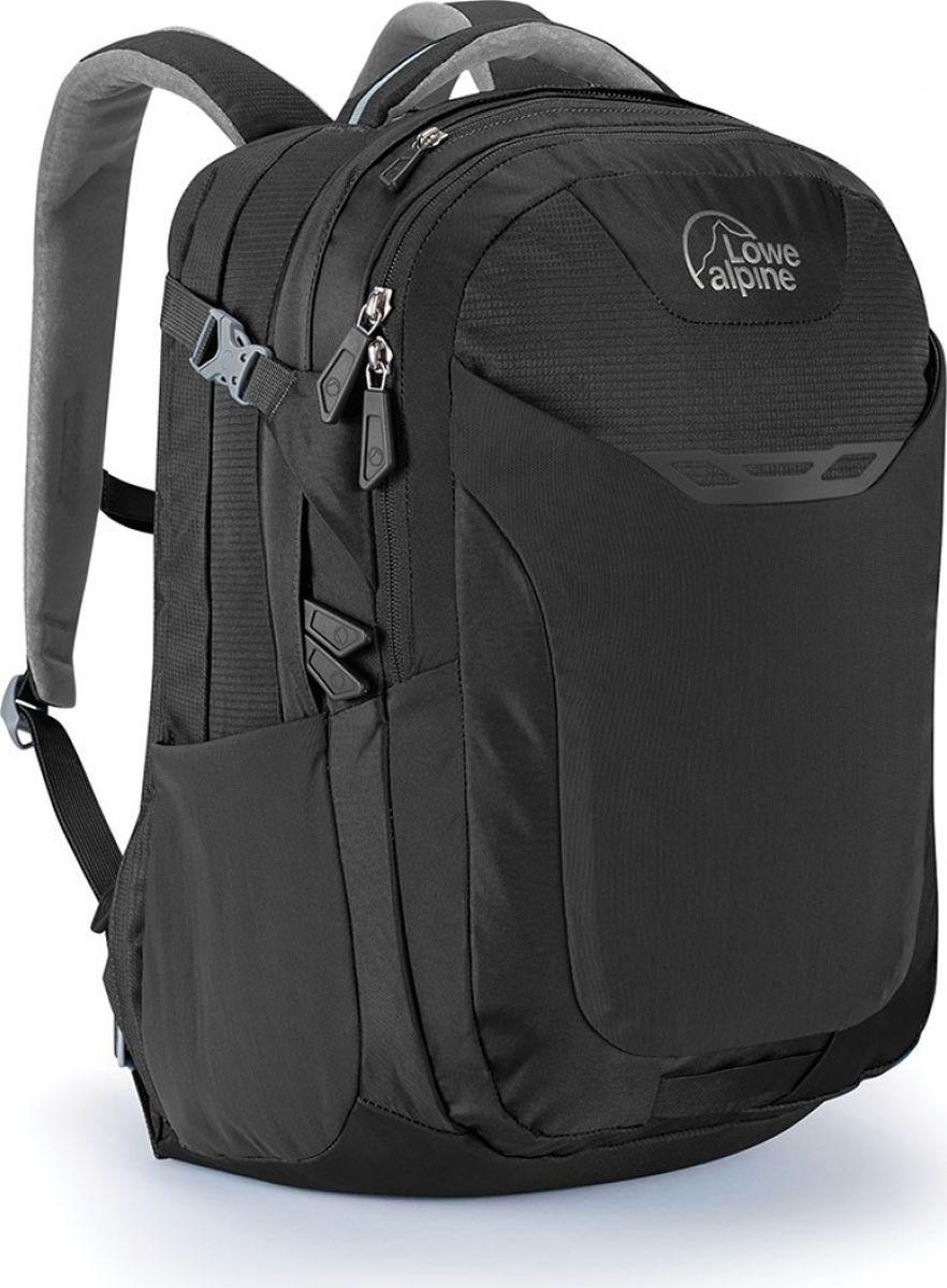 Рюкзак городской Lowe Alpine Core 34, цвет: черный, серый, 34 лFDP-44Рюкзак Core 34 - вместительный городской рюкзак с отделением для ноутбука диагональю до 15, органайзером внутри и несколькими отделениями для удобной организации ваших вещей. Выполнен из нейлона. Оснащен эргономичными регулируемыми плечевыми ремнями, ручкой для переноски. Имеет вместительный эластичный передний карман.