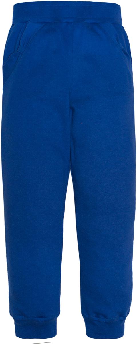 Брюки спортивные для девочки Lets Go, цвет: светло-синий. 10159. Размер 10410159Спортивные брюки Lets Go выполнены из высококачественного материала. Модель с карманами по бокам и трикотажными резинками по низу брючин.