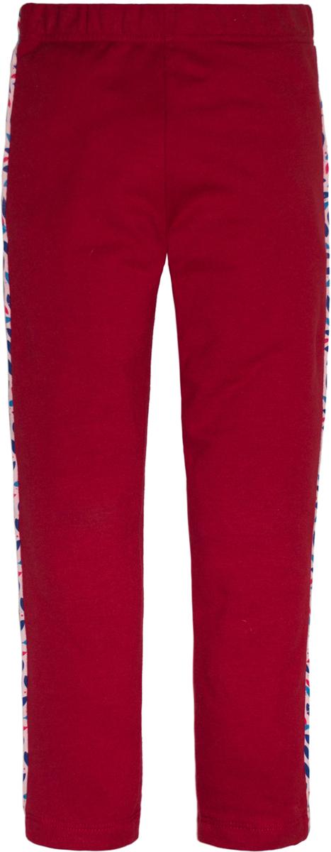 Леггинсы для девочек Lets Go, цвет: красный.10155. Размер 12210155