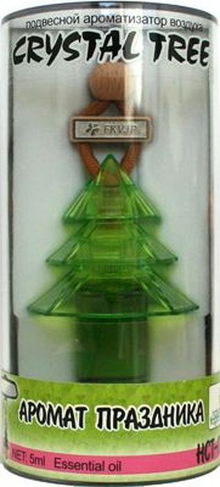 Ароматизатор автомобильный FKVJP Crystal Tree. Аромат праздника, подвеска, 5 мл автомобильные ароматизаторы chupa chups ароматизатор воздуха chupa chups chp801