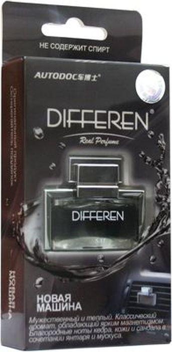 Ароматизатор автомобильный Autodoc Differen. Новая машина, на дефлектор, 11 млK-1012Автомобильный ароматизатор эффективно устраняет неприятные запахи и придает приятный аромат. Кроме того, ароматизатор обладает элегантным дизайном.
