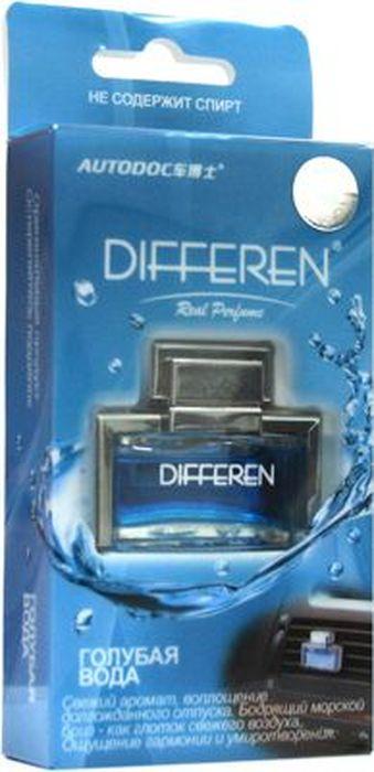 Ароматизатор автомобильный Autodoc Differen. Голубая вода, на дефлектор, 11 млK-1014Автомобильный ароматизатор эффективно устраняет неприятные запахи и придает приятный аромат. Кроме того, ароматизатор обладает элегантным дизайном.