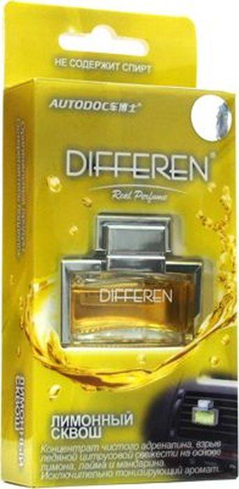Ароматизатор автомобильный Autodoc Differen. Лимонный сквош, на дефлектор, 11 млK-1018Автомобильный ароматизатор эффективно устраняет неприятные запахи и придает приятный аромат кофе. Кроме того, ароматизатор обладает элегантным дизайном.