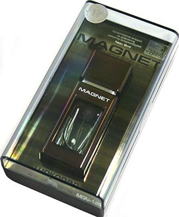 Ароматизатор автомобильный FKVJP Magnet. Шоколад, на дефлектор, 8 млMGN-129Автомобильный ароматизатор эффективно устраняет неприятные запахи и придает приятный аромат. Кроме того, ароматизатор обладает элегантным дизайном.