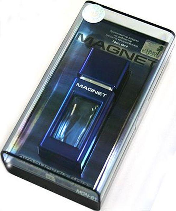 Ароматизатор автомобильный FKVJP Magnet. Океанский бриз, на дефлектор, 8 млMGN-61Автомобильный ароматизатор эффективно устраняет неприятные запахи и придает приятный аромат. Кроме того, ароматизатор обладает элегантным дизайном.