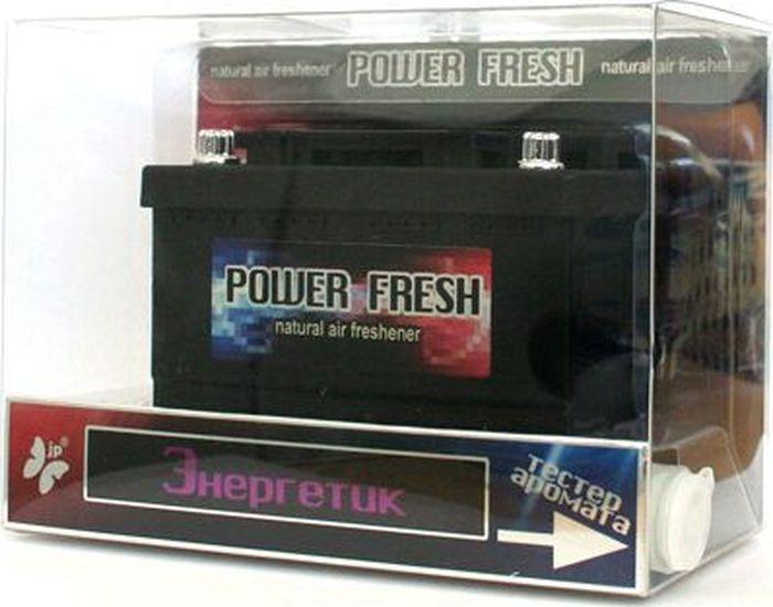 Ароматизатор автомобильный FKVJP Power Fresh. Энергетик, гелевый, 70 мл ароматизатор под обдув лобового стекла fkvjp wind fresh