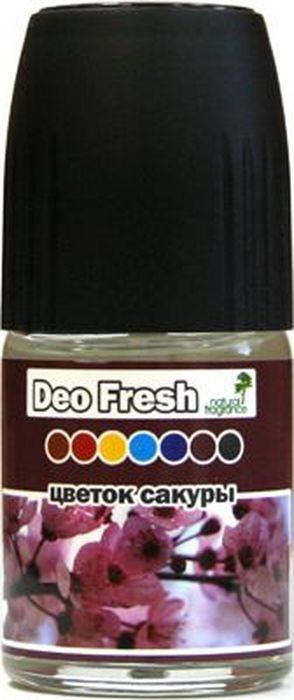 Ароматизатор автомобильный FKVJP Deo Fresh. Цветок сакуры, спрей, 50 мл