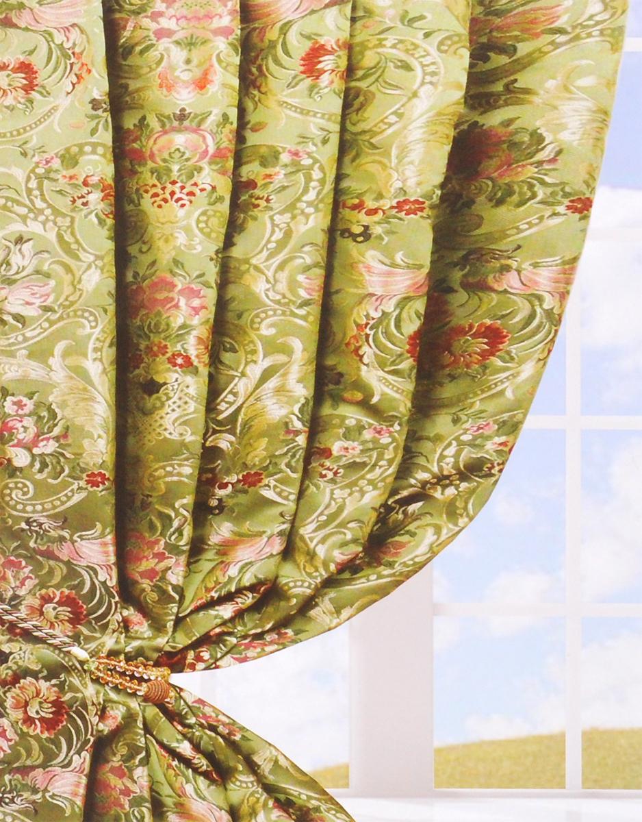 Портьера Amore Mio Блэкаут, на ленте, цвет: бежевый, высота 270 см. 8516585165Портьера Amore Mio - плотная, гладкая, мягкая ткань с деликатным сатиновым блеском. Эти портьеры не пропускают солнечный свет и будут идеальным решением для домашнего кинотеатра и спальни. Изготовлены из 100% полиэстера. Полиэстер - вид ткани, состоящий из полиэфирных волокон. Ткани из полиэстера легкие, прочные и износостойкие. Такие изделия не требуют специального ухода, не пылятся и почти не мнутся.Крепление к карнизу осуществляется при помощи вшитой шторной ленты.