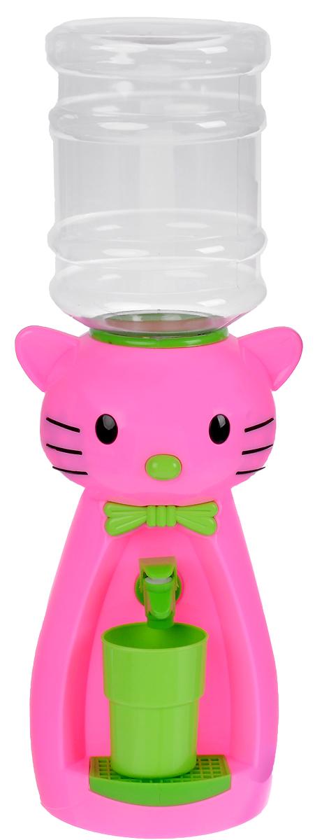 Vatten Kids Kitty, Pink кулер (со стаканчиком) - Кулеры для воды