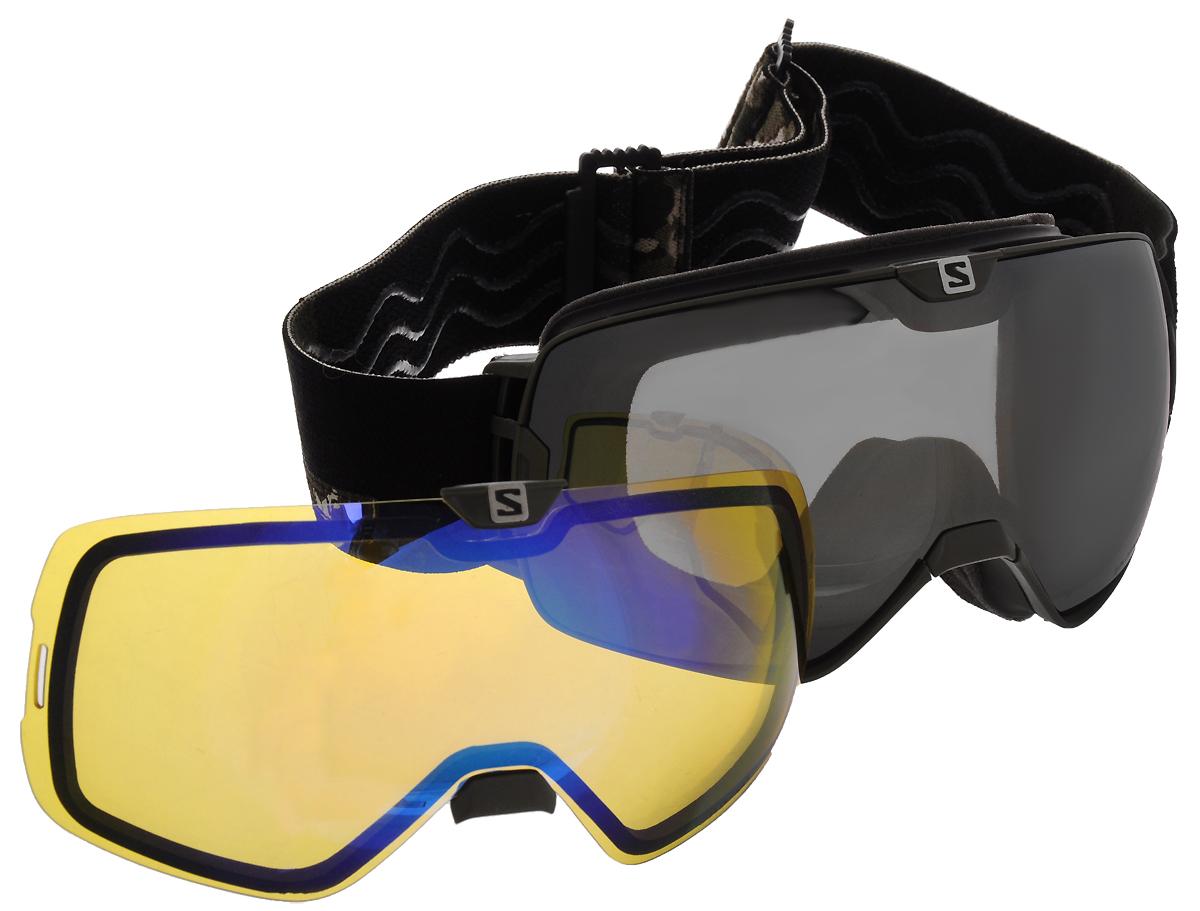 Маска горнолыжная Salomon Xmax Camo+Xtra Lens Asian FitL39953700Маска горнолыжная SALOMON X-Max вобрала в себя все самое лучшее от компании Salomon, Все светофильтры Salomon – любого цвета – соответствуют европейским стандартам, задерживают 100% ультрафиолетовых лучей, помогая предотвратить любые повреждения глаз солнцем. Все светофильтры Salomon отличаются дополнительным покрытием, стойким к царапинам – прочным и долговечным.