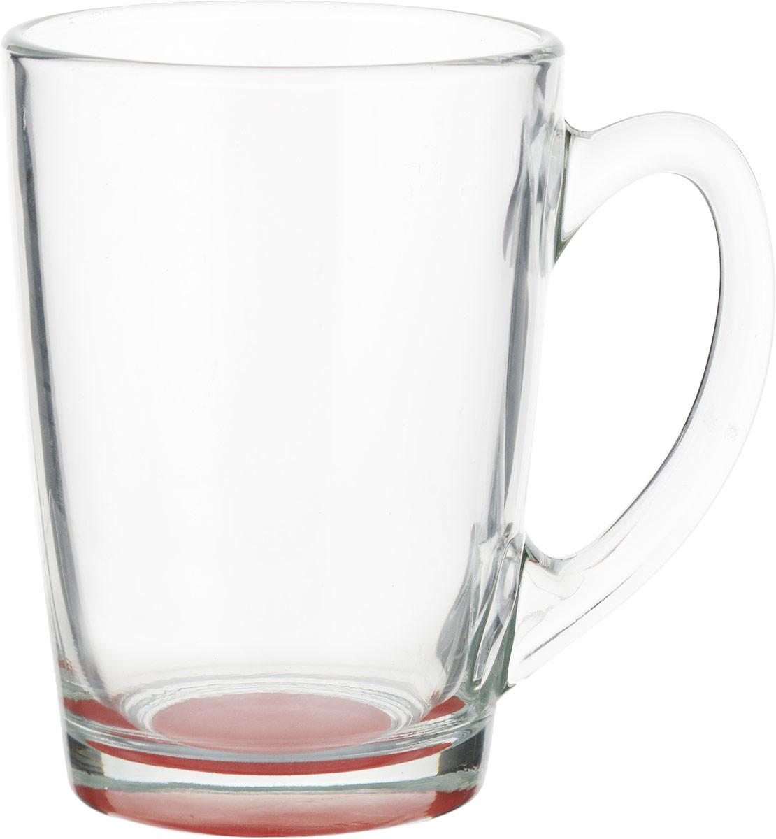 Кружка Luminarc Morning Rainbow, цвет: прозрачный, красный, 320 млJ5974_красныйКружка Luminarc Morning Rainbow изготовлена из упрочненного стекла. Такая кружка прекрасно подойдет для горячих и холодных напитков. Она дополнит коллекцию вашей кухонной посуды и будет служить долгие годы. Диаметр кружки (по верхнему краю): 8 см. Высота стенки кружки: 11 см.Бренд Luminarc - это один из лидеров мирового рынка по производству посуды и товаров для дома. В основе процесса изготовления лежит высококачественное сырье, а также строгий контроль качества.