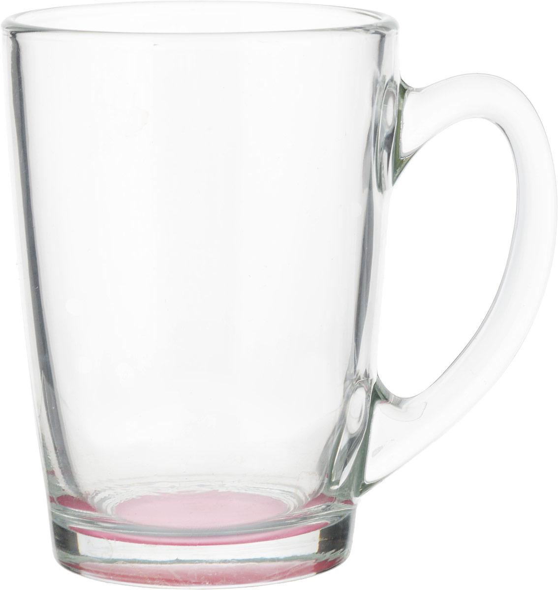Кружка Luminarc Morning Rainbow, цвет: прозрачный, малиновый, 320 млJ5974_малиновыйКружка Luminarc Morning Rainbow изготовлена из упрочненного стекла. Такая кружка прекрасно подойдет для горячих и холодных напитков. Она дополнит коллекцию вашей кухонной посуды и будет служить долгие годы. Диаметр кружки (по верхнему краю): 8 см. Высота стенки кружки: 11 см.Бренд Luminarc – это один из лидеров мирового рынка по производству посуды и товаров для дома. В основе процесса изготовления лежит высококачественное сырье, а также строгий контроль качества.