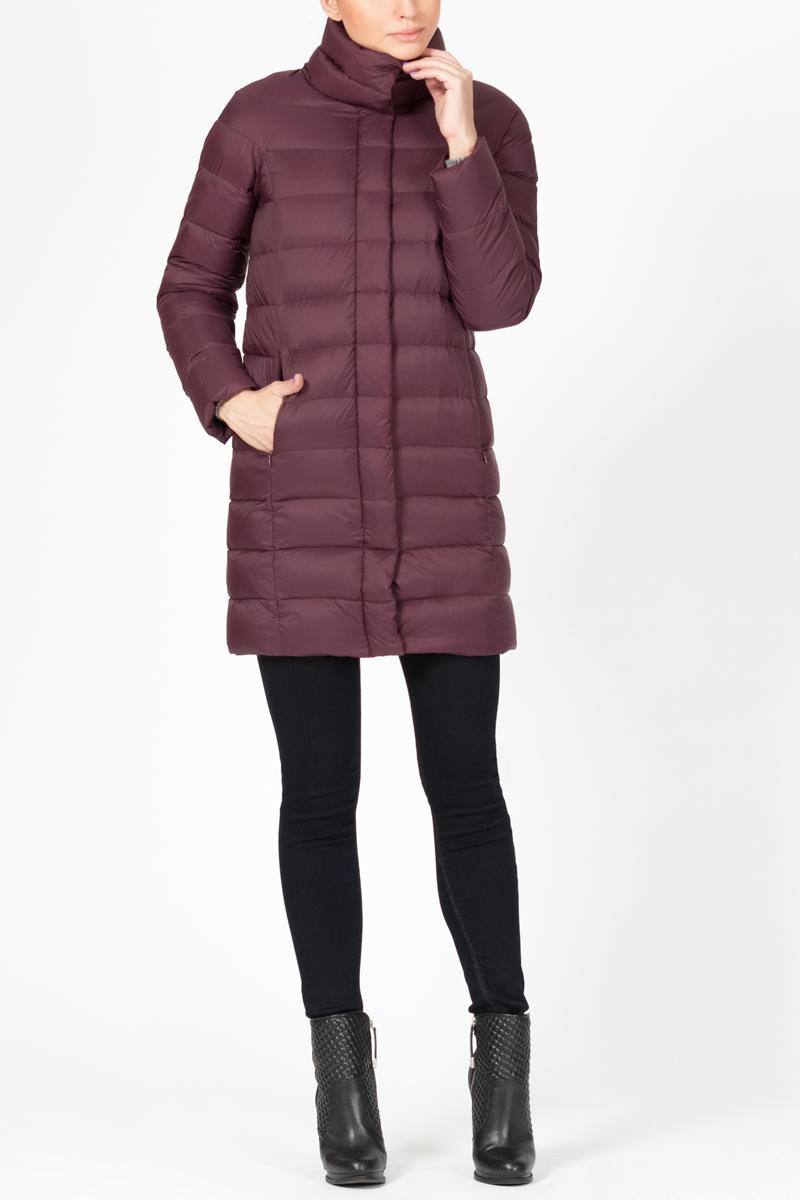 Пуховик женский Tom Farr, цвет: красный. T4FW3609.26709-2. Размер XL (50) zilli пуховик от zilli 69841