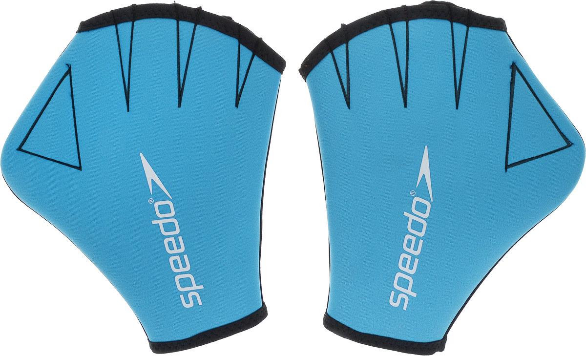 Перчатки для аквааэробики Speedo Aqua Glove, цвет: голубой. Размер M8-069190309Разработаны для усиления сопротивления воде и укреплению мышц. Небольшое воздействие на верхнюю часть тела сводит к минимуму нагрузку на суставы.