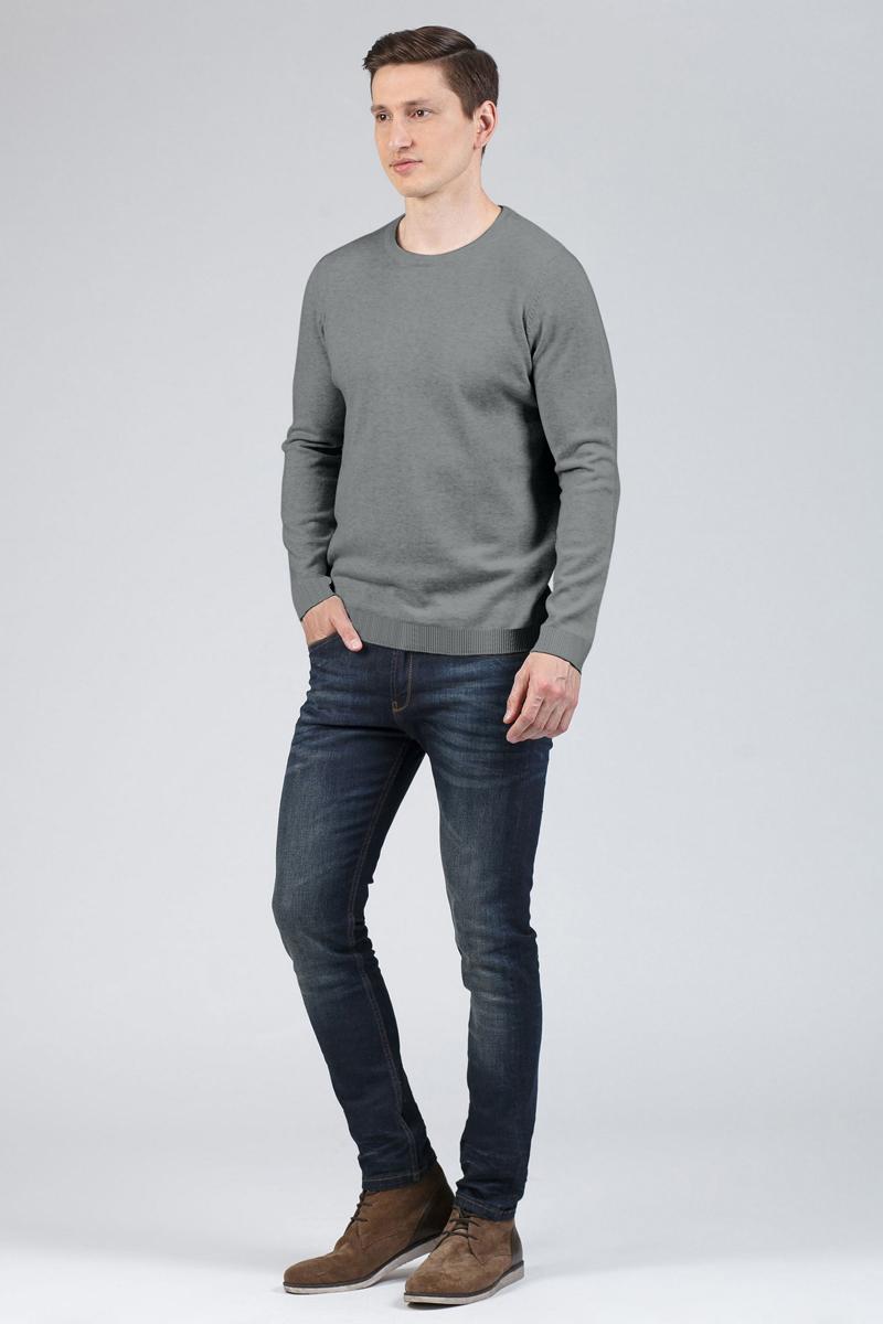 Джемпер мужской Tom Farr, цвет: светло-серый. TM4002.54808-1-coll. Размер S (46)