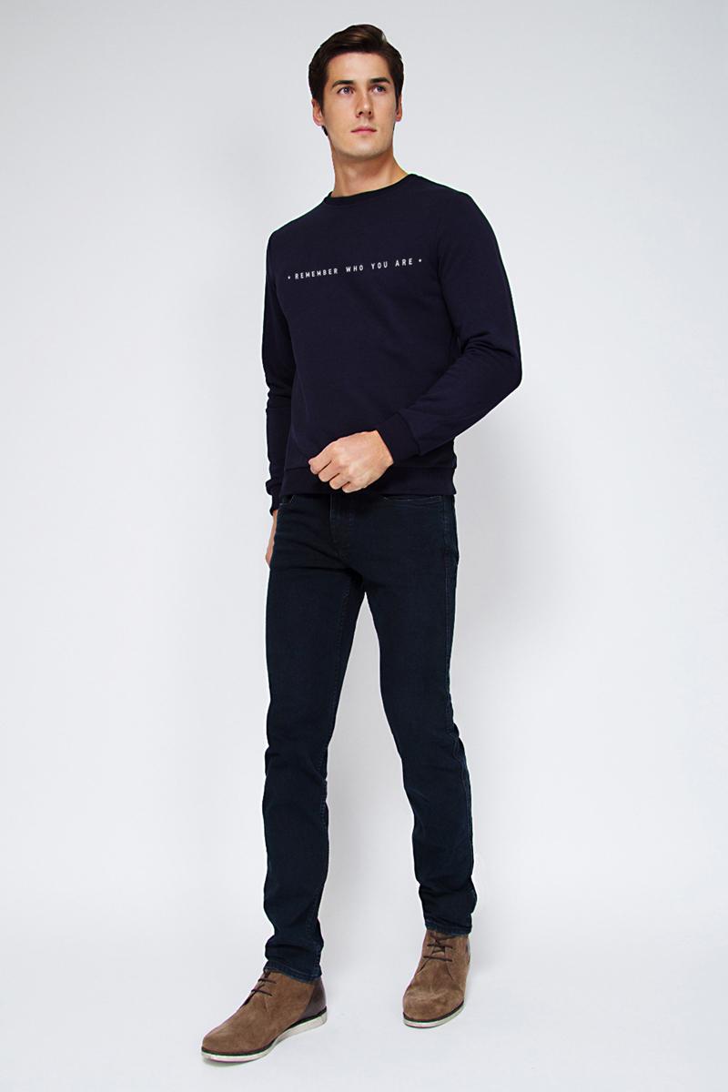 Свитшот мужской Tom Farr, цвет: темно-синий. TM4037.67808-2-coll. Размер 3XL (56)