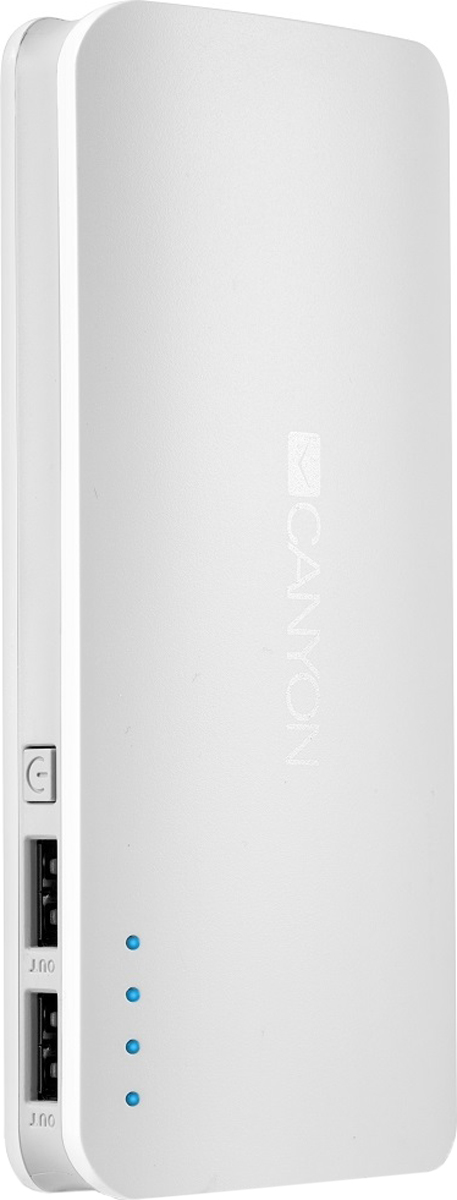 Canyon CNE-CPB130W, White внешний аккумулятор (13000 мАч) рамка schneider electric glossa 1063724