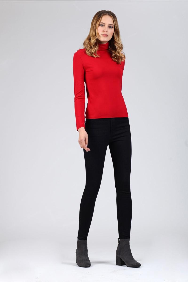 Водолазка женская Tom Farr, цвет: красный. TW4521.25808-1-coll. Размер XS (42) водолазка женская pettli collection цвет красный 14514 размер 50 52