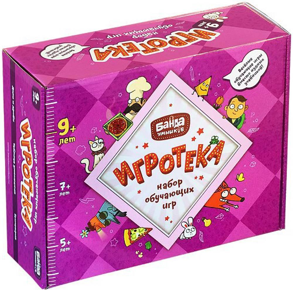 Банда Умников Обучающая игра Игротека 9+ банда умников банда умников настольная игра делиссимо