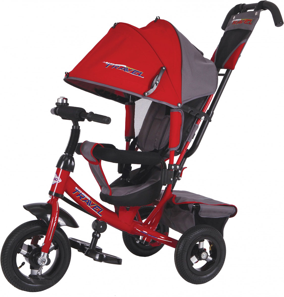 Travel Велосипед трехколесный цвет красный черный TTA2R/o