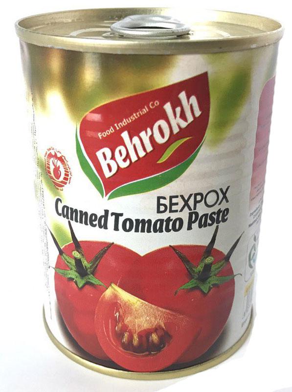 Behrokh паста томатная, 380 г томатная паста помидорка 250мл
