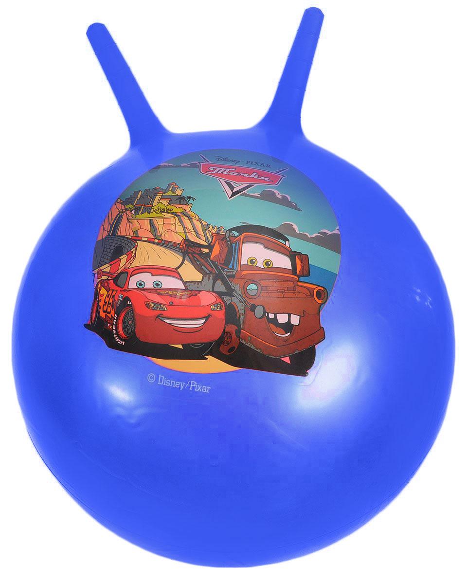 Играем вместе Мяч-прыгунок Тачки с рожками цвет синий 55 см