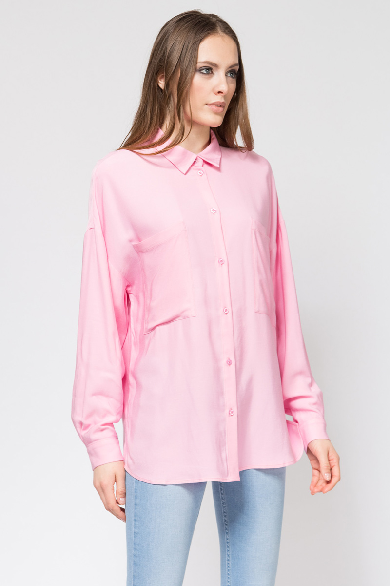 где купить Блузка женская Tom Farr, цвет: светло-розовый. TW7508.79702-1-coll. Размер XS (42) по лучшей цене
