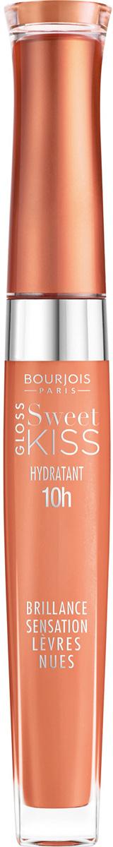 Bourjois Блеск Для Губ Sweet Kiss-gloss Тон 01 6 мл блески bourjois блеск для губ sweet kiss gloss тон 01 sandsation