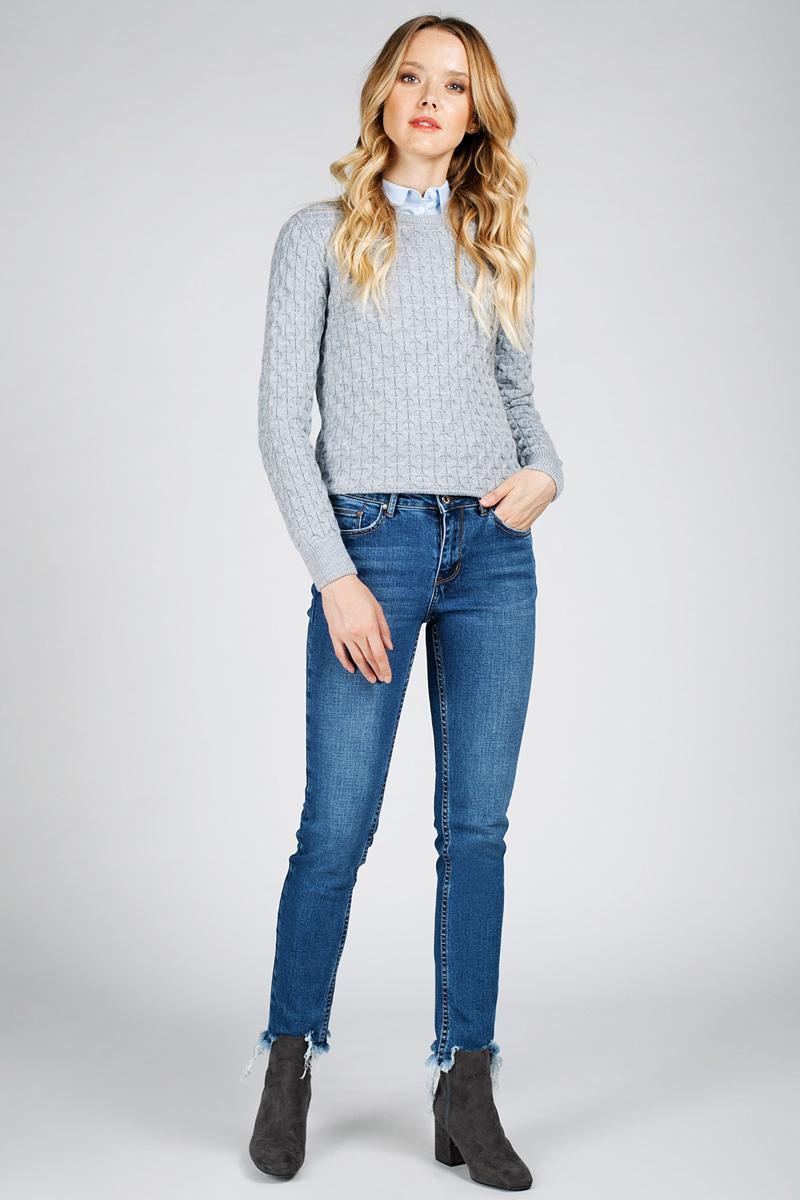 Джинсы женские Tom Farr, цвет: синий. T4FW5739.35807-2-coll. Размер 26-32 (42-32)T4FW5739.35807-2-collЖенские джинсы от Tom Farr выполнены из эластичного хлопкового денима. Модель облегающего кроя в поясе застегивается на пуговицу и имеет ширинку на молнии, имеются шлевки для ремня. Джинсы имеют классический пятикарманный крой, низ брючин не обработан.