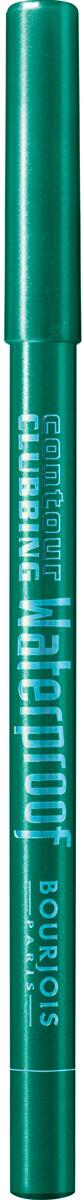 Bourjois Карандаш Водостойкий Для Глаз Contour Clubbing Waterproof Тон 50 loving grren 1 мл29101332050Мягкая текстура водостойких карандашей Contour Clubbing прекрасно наносится, создавая яркий насыщенный цвет. Уникальная формула насыщена маслами жожоба и хлопка, чтобы не раздражать нежную кожу век. Карандаши прошли тщательный офтальмологический контроль. Смываются средством для снятия водостойкого макияжа.