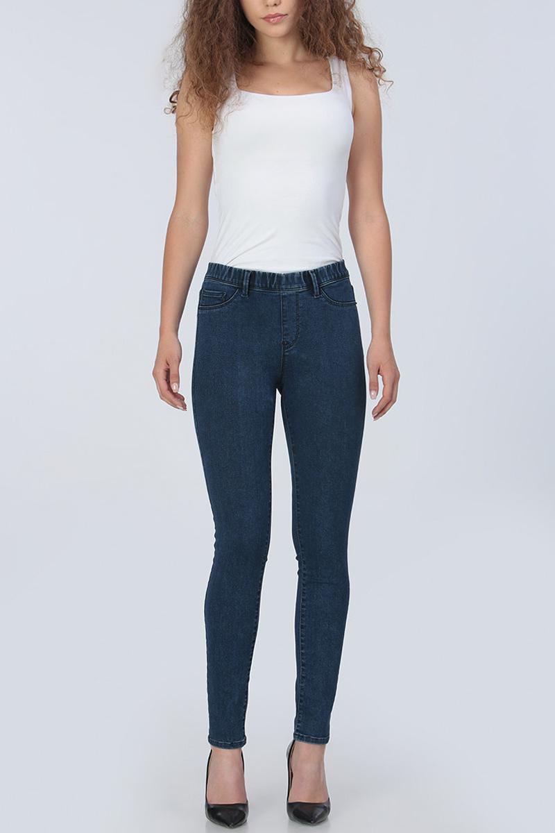 Джинсы женские Tom Farr, цвет: синий. TW5504.36708-2-promo. Размер 27-32 (44-32)TW5504.36708-2-promoЖенские джинсы от Tom Farr выполнены из эластичного хлопкового денима. Модель облегающего кроя в поясе застегивается на пуговицу и имеет ширинку на молнии, имеются шлевки для ремня. Спереди джинсы оформлены имитацией карманов, сзади дополнены накладными карманами.