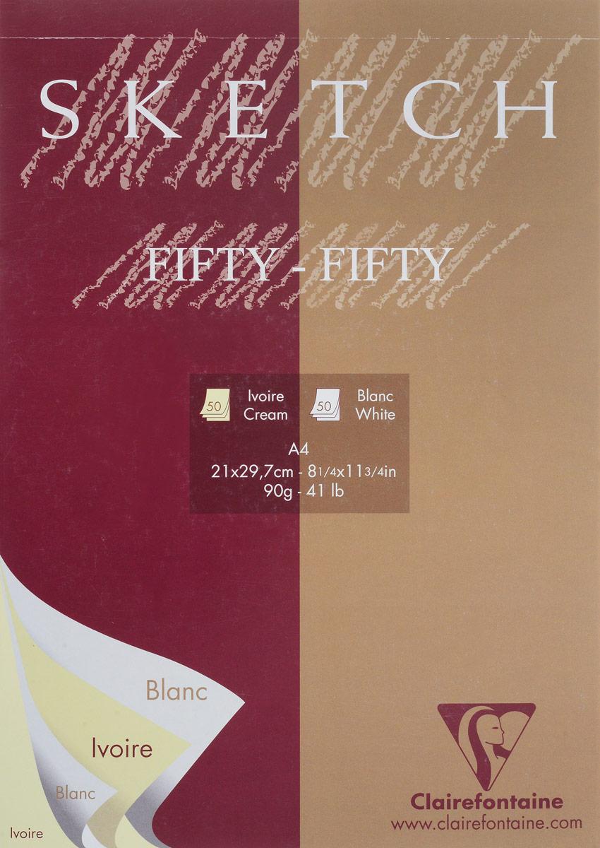 Блокнот Clairefontaine Sketch, для сухих техник, цвет: вишневый, темно-бежевый, формат A4, 100 листов96609С_вишневый, темно-бежевыйОригинальный блокнот Clairefontaine идеально подойдет для памятных записей, любимых стихов, рисунков и многого другого. Плотная обложкапредохраняет листы от порчи изамятия. Такой блокнот станет забавным и практичным подарком - он не затеряется среди бумаг, и долгое время будет вызывать улыбку окружающих.